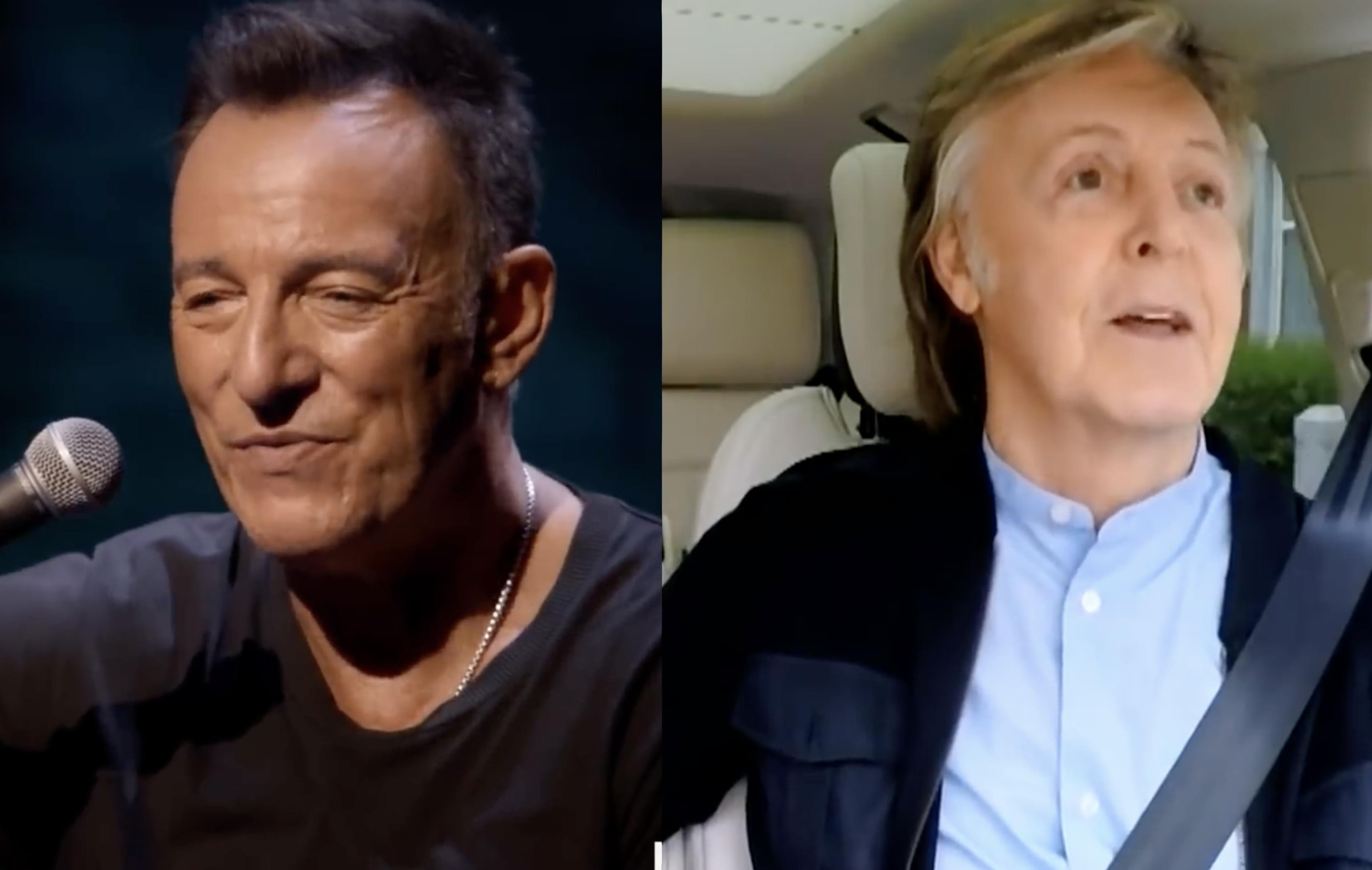 Paul McCartney & Bruce Springsteen battling each other for 'Variety Special' Emmy