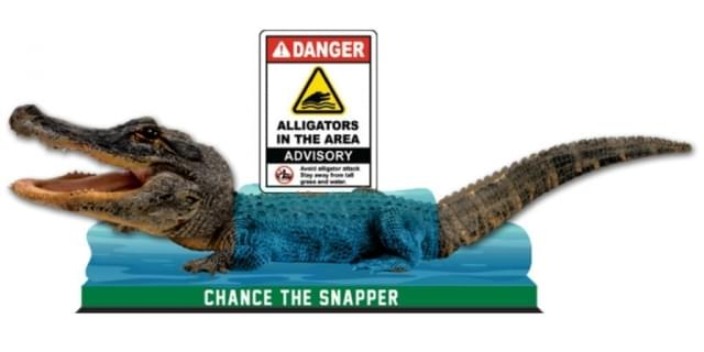 The Humboldt Park Alligator AKA Chance the Snapper bobblehead debuts