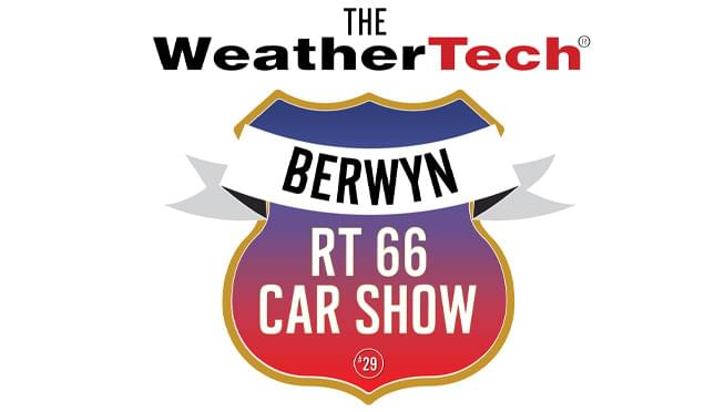 8/24/19 – 2019 WeatherTech Berwyn RT 66 Car Show