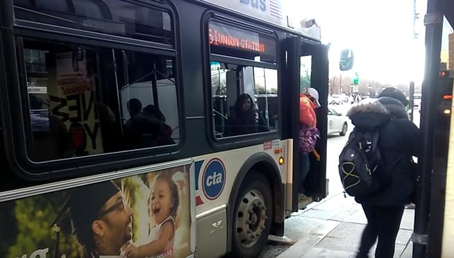 Chicago Students get a free CTA bus ride to their first day of class