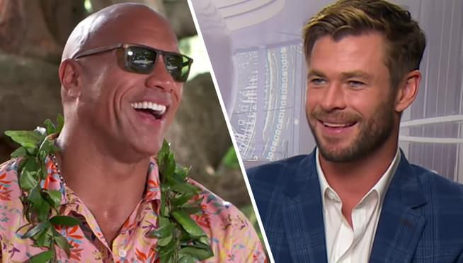 'The Rock' and Chris Hemsworth top Forbes 2019 Highest-Paid Stars List
