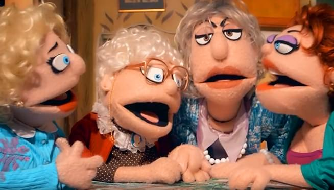 "The ""Golden Girls"" PUPPET show is a thing"