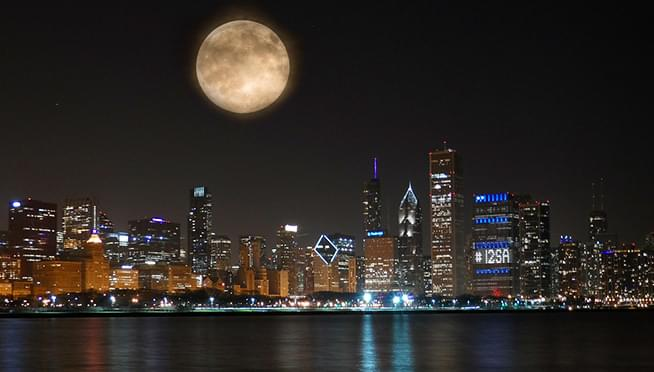 Rare Harvest Moon will be in the sky TONIGHT, Friday the 13th