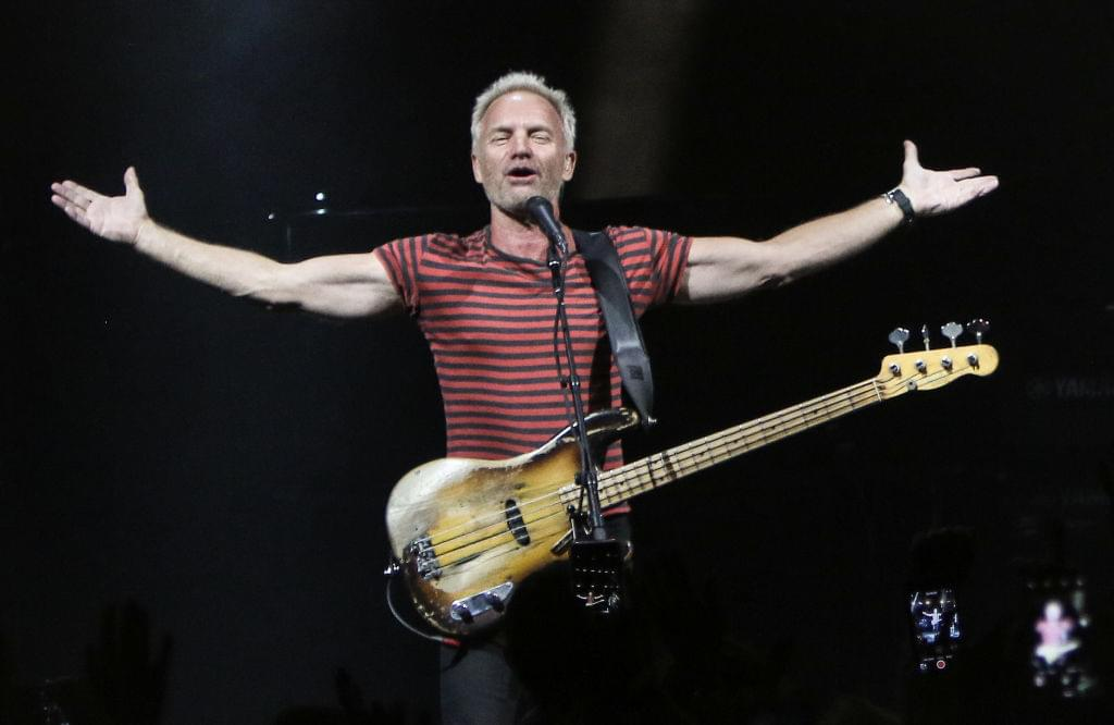"Sting is back on top of the charts with ""If You Love Somebody Set Them Free"""