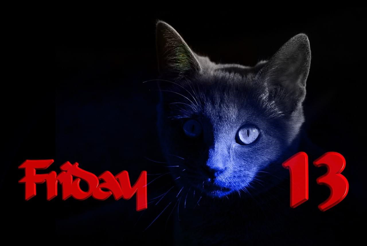Happy Friday the 13th! A new poll found almost a third of us are Superstitious