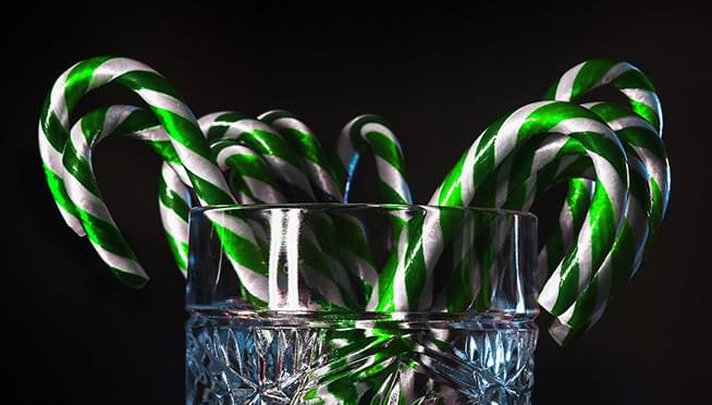 Would you try a KALE-flavored candy cane?