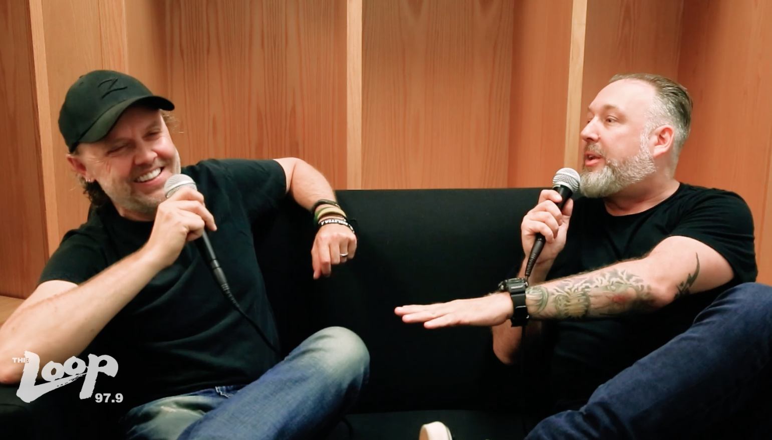 VIDEO: Metallica backstage with The Loop