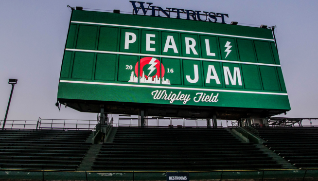 Pearl Jam Returns To Wrigley?