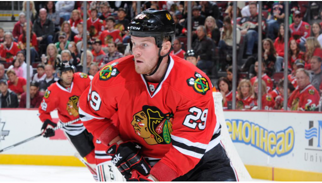 A Blackhawks Retirement for Bickell