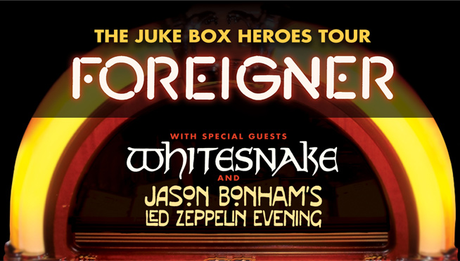 7/11/18 – Foreigner, Whitesnake, & Jason Bonham's Led Zeppelin Evening