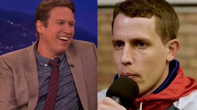 Pete Holmes and Tony Hinchcliffe join Mancow!