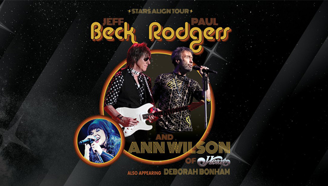 Jeff Beck, Paul Rodgers, & Ann Wilson