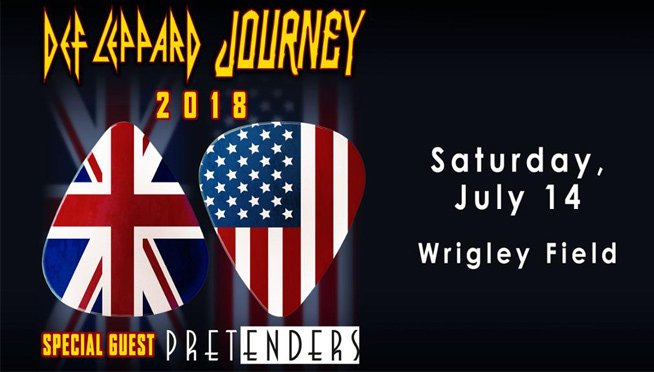 7/14/18 – Def Leppard and Journey at Wrigley Field