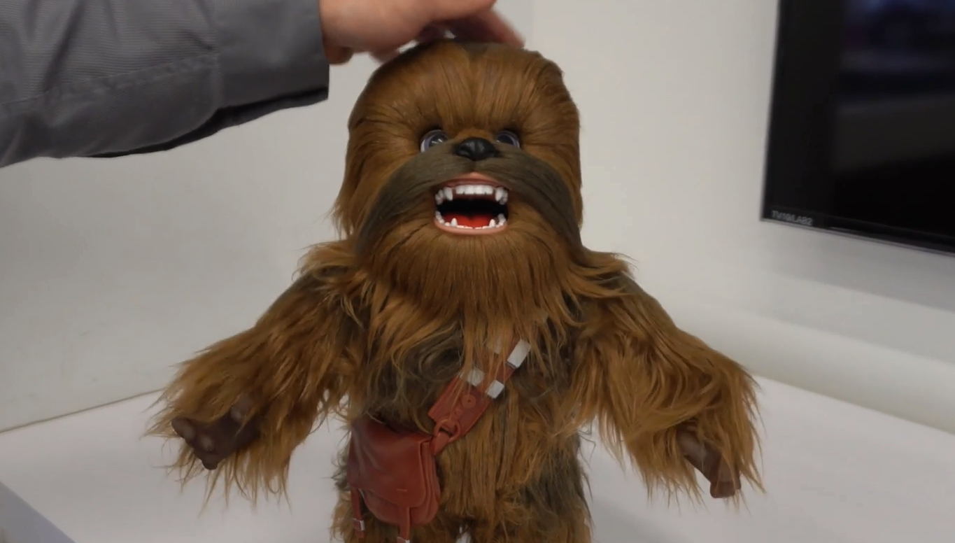 Chewbacca toy eliminates need to have a housepet
