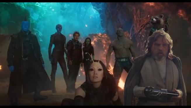 """Mark Hamill & James Gunn discuss possible """"Guardians Vol. 3"""" role on Twitter"""