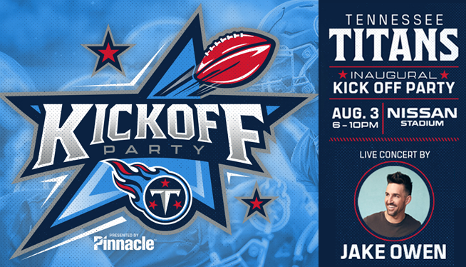 Titans Kickoff Party is Saturday and here's what you need to know