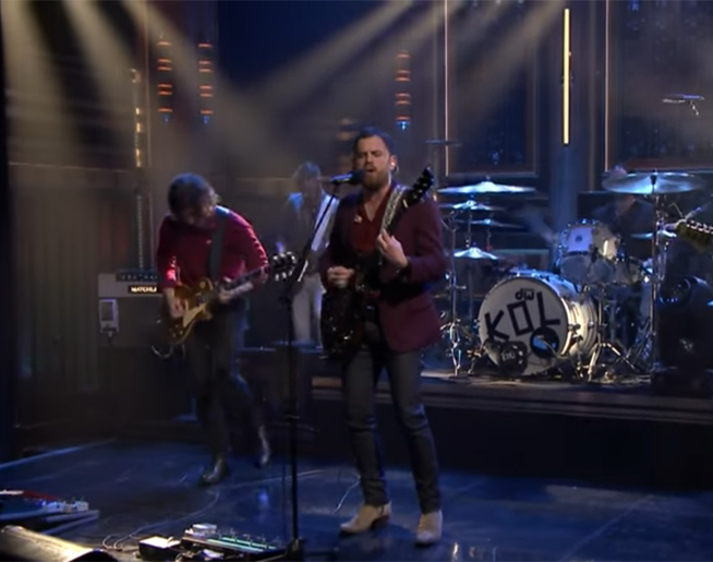 "Watch Kings of Leon perform ""Reverend"" on Fallon"