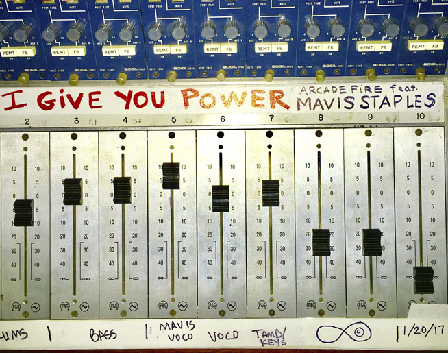 "Listen To New Arcade Fire ""I Give You Power"""