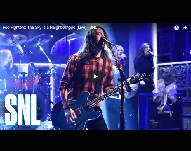 Foo Fighters Snl Christmas.Foo Fighters Snl Christmas