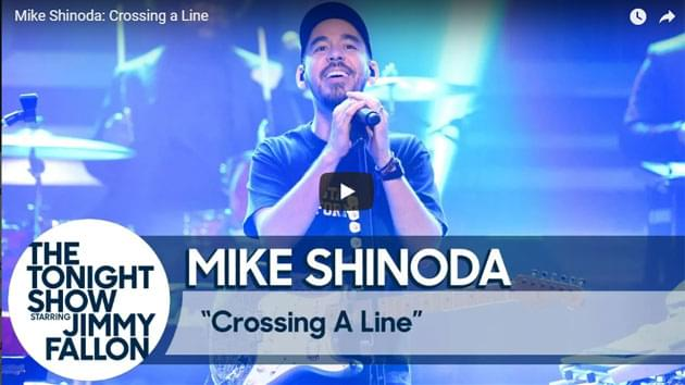 Mike Shinoda Performs On The Tonight Show Starring Jimmy Fallon