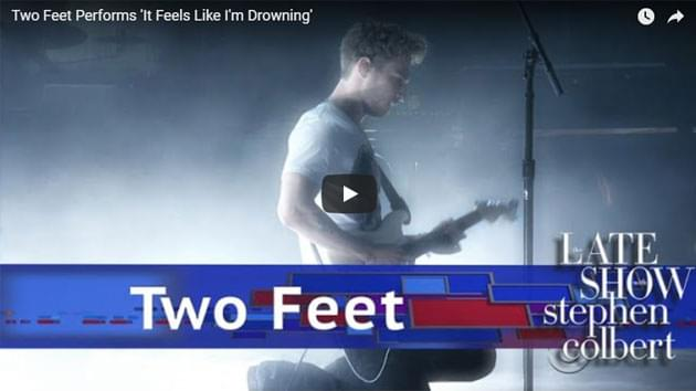 Two Feet Performs On The Late Show with Stephen Colbert