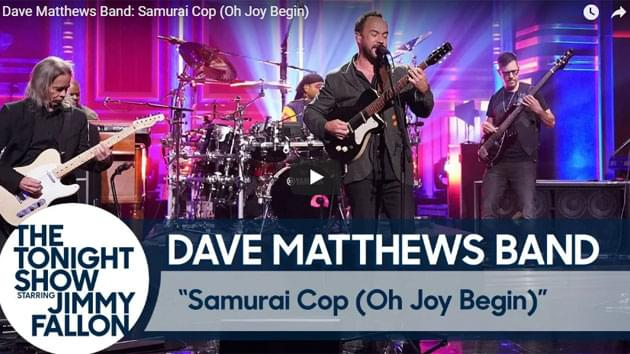 Dave Matthews Band Performs On The Tonight Show Starring Jimmy Fallon