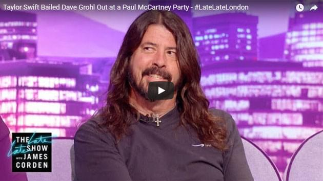 Dave Grohl Talks To James Corden About Paul McCartney