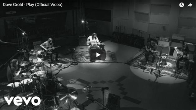 """Dave Grohl Releases """"Play"""""""