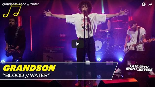 Grandson Performs on Late Night with Seth Meyers