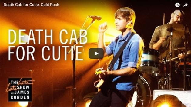 Death Cab for Cutie Perform on The Late Late Show with James Corden