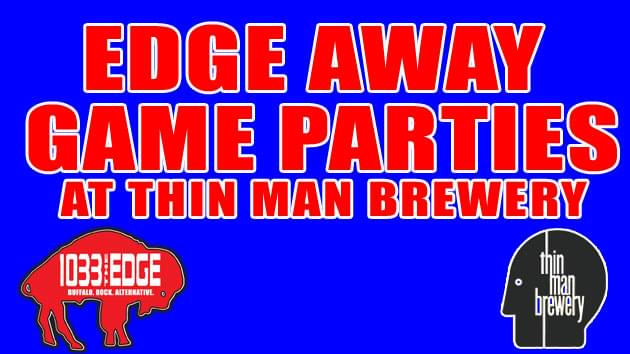 Edge Away Game Parties at Thin Man Brewery
