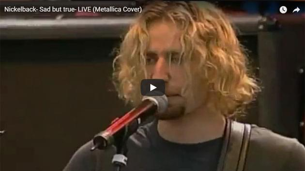 Nickelback Covers Metallica