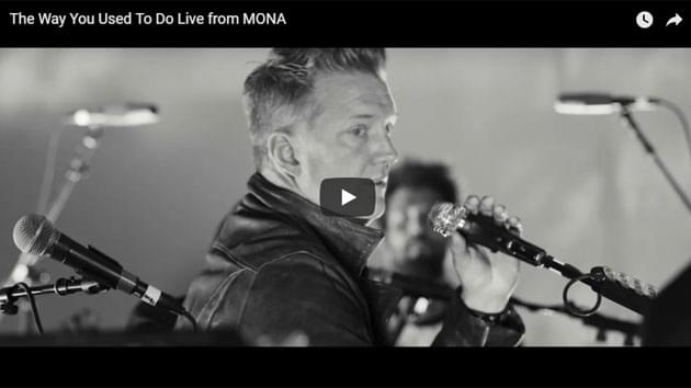 "Queens Of The Stone Age Perform Stripped Down Version of ""The Way You Used To Do"""