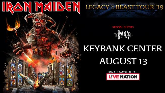 Iron Maiden | August 13th