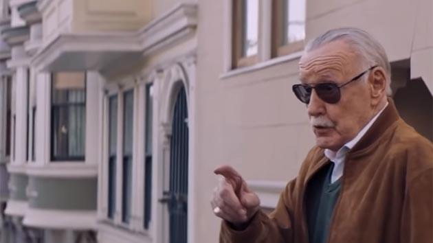 Stan Lee Makes Emotional Cameo in New Spider-Man Installation