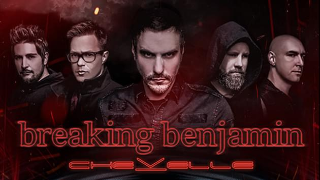 August 4th | Breaking Benjamin with Chevelle