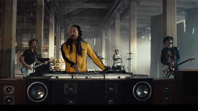 """Watch Blink-182 and Steve Aoki Collaborative """"Why Are We So Broken?"""" Video"""