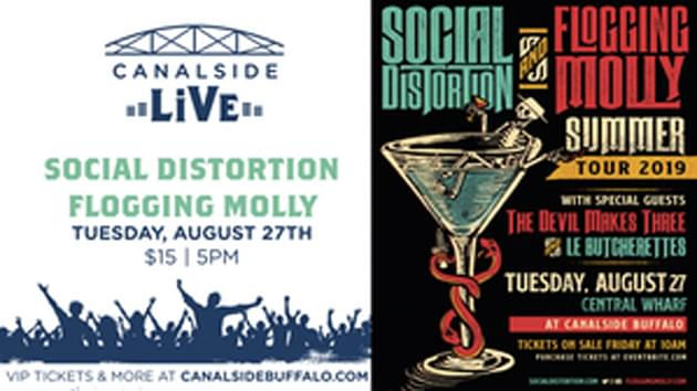 Social Distortion and Flogging Molly | August 27th