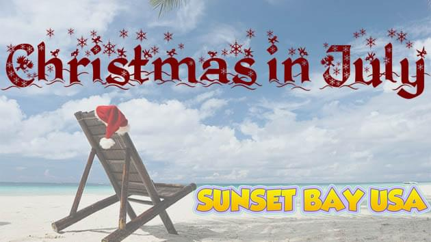 Sunset Bay's Christmas in July