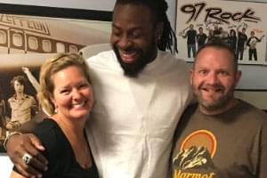 AUDIO: Eagles DE Steven Means in studio