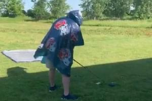 VIDEO: Exploding Items from a Golf Tee