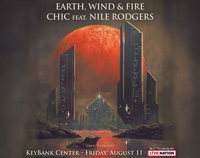 Aug 11: Earth, Wind & Fire and Chic featuring Nile Rodgers