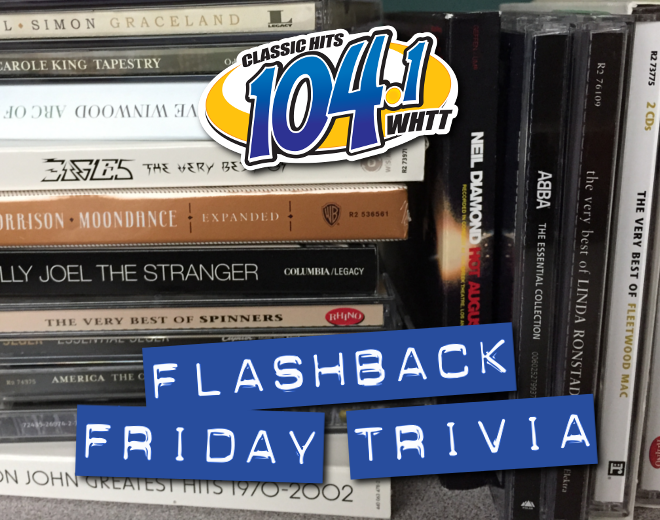 Flashback Friday Trivia (3/30/18)