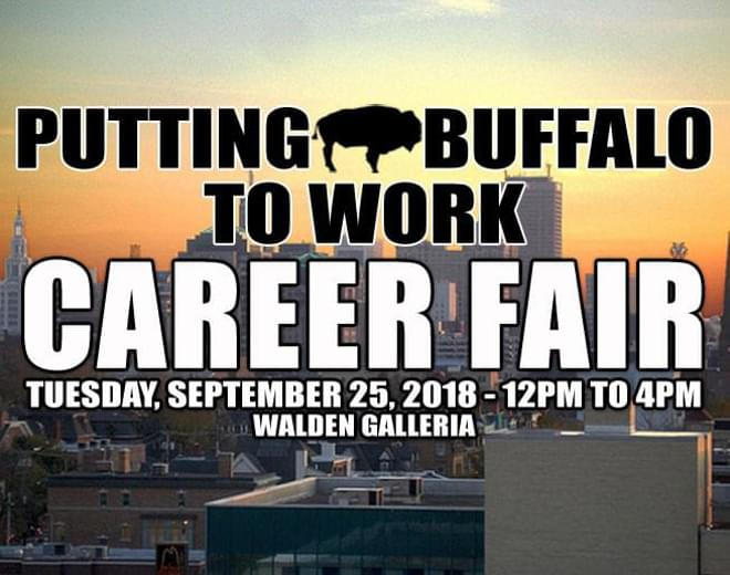 Putting Buffalo to Work Career Fair 2018