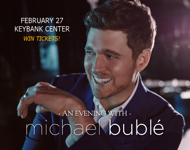 Michael Buble at KeyBank Center