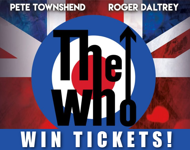 The Who in Buffalo!