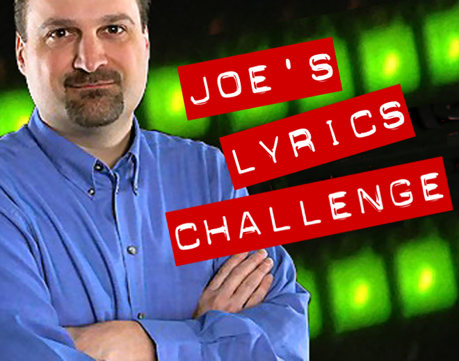 Joe's Lyrics Challenge #32