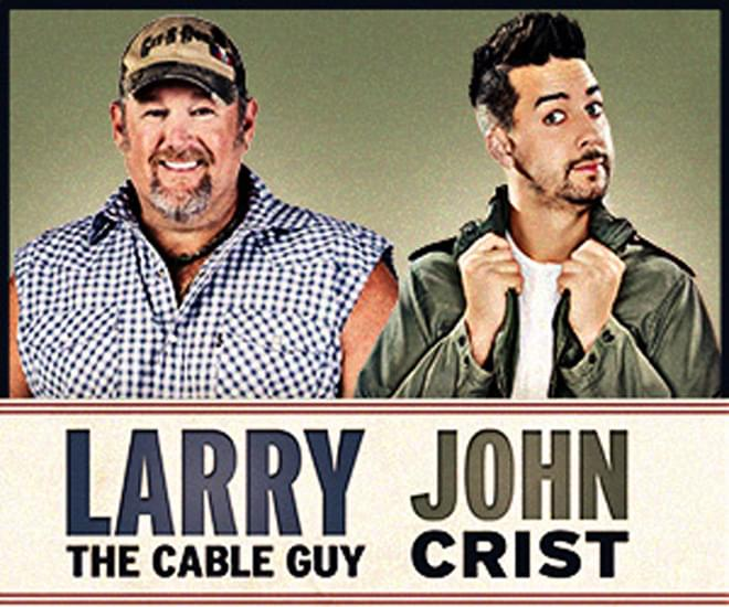 WIN: Larry the Cable Guy and John Crist Tickets