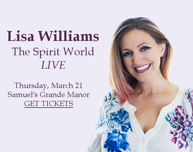TICKETS: The Spirit World: Live with Lisa Williams