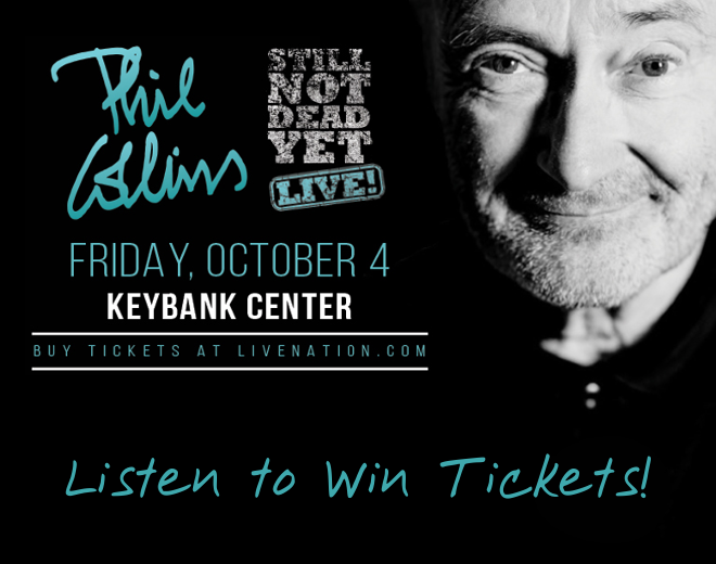 Phil Collins Coming To Buffalo